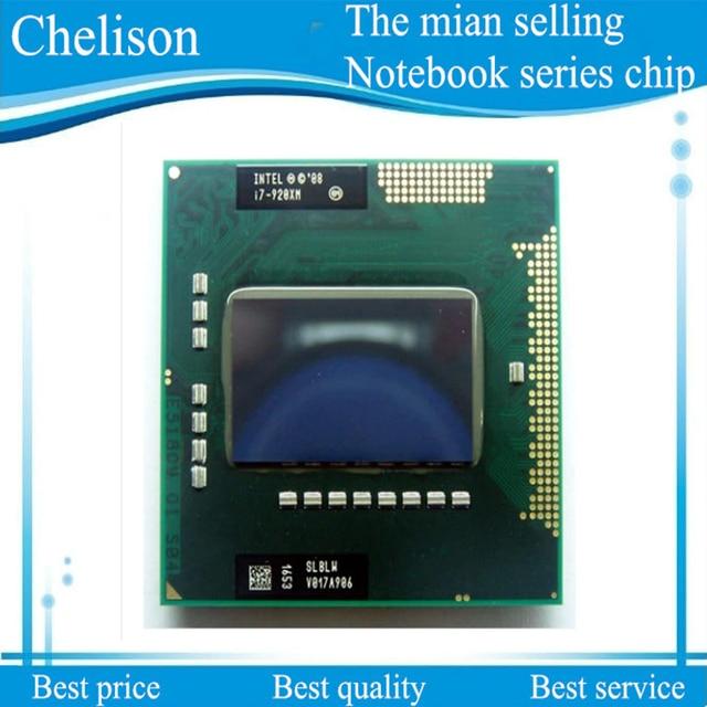 New CPU I7-920XM SLBLW I7 920XM CPU 2.0-3.2G/8 M PGA988 Processador Chipset