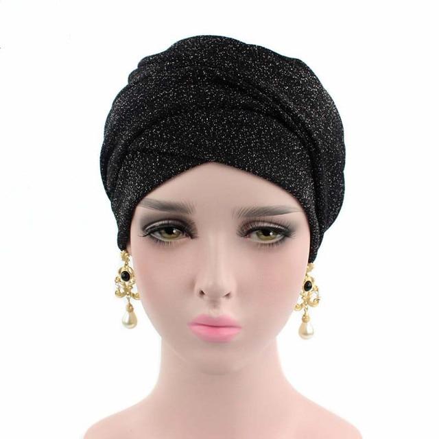 6c0b552dbfd Helisopus Bright Color Stretch Cloth Hat Scarf Ladies Hair Accessories  Headband
