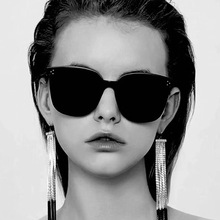 XIWANG Women Sunglasses Ladys Retro Harajuku Square Frame PC Sun glasses Korean Version Outdoor Street Photography Glasses