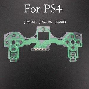 Image 2 - TingDong 20 adet/grup yedek denetleyici şerit devre kartı PCB iletişim Pad flex kablo için PS4 denetleyici onarım bölümü PS4 PRO