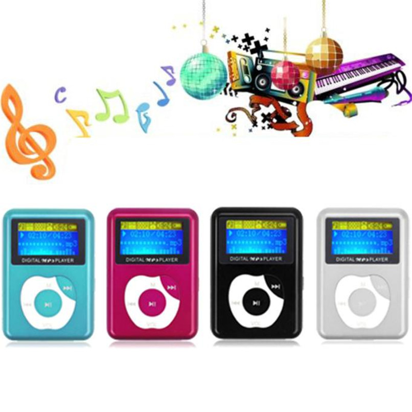 High Quality Sound USB Digital MP3 Music Player LCD Screen Metal Support 32GB Micro SD TF