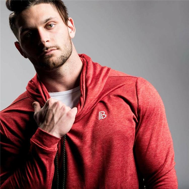 Red Hoodie Sweatshirt  1
