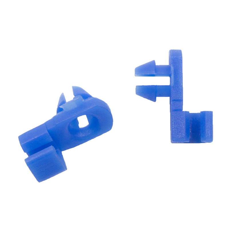 Купить с кэшбэком 16PCS 8 models universal auto door locks block fixed Hook plastic fasteners for all cars