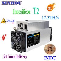 Innosilicon T2 17.2T ASIC Miner dragonmint T2 BTC mining machine 10nm SHA256 miner better than Antminer S9 T9 whatsminer m3 M3X