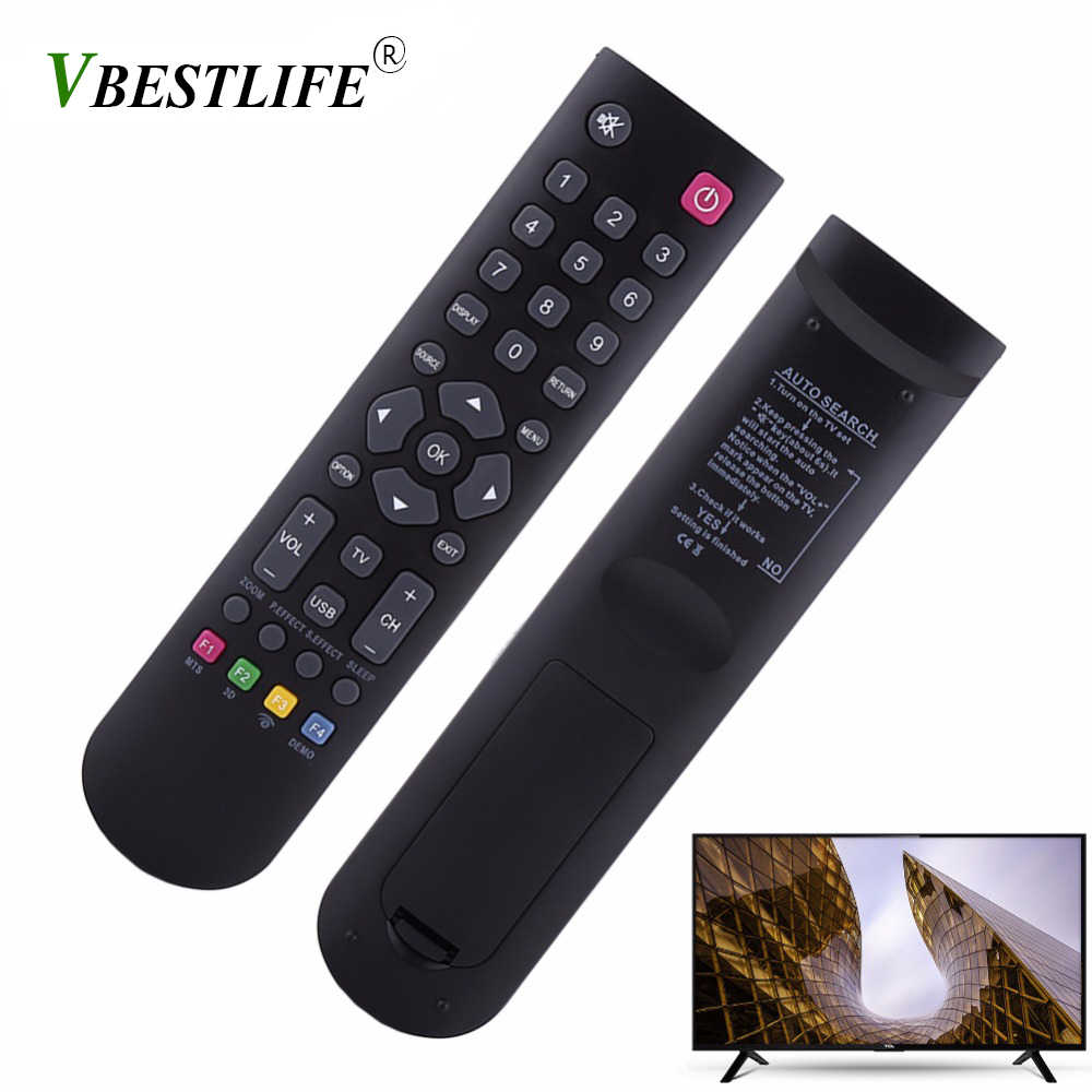 VBESTLIFE Universal Remote Control Replacement for TCL RC3000E01,  RC3000E02, 08-RC3000E-RM201AA, TLC-925 RC200 Thomson ERISSON