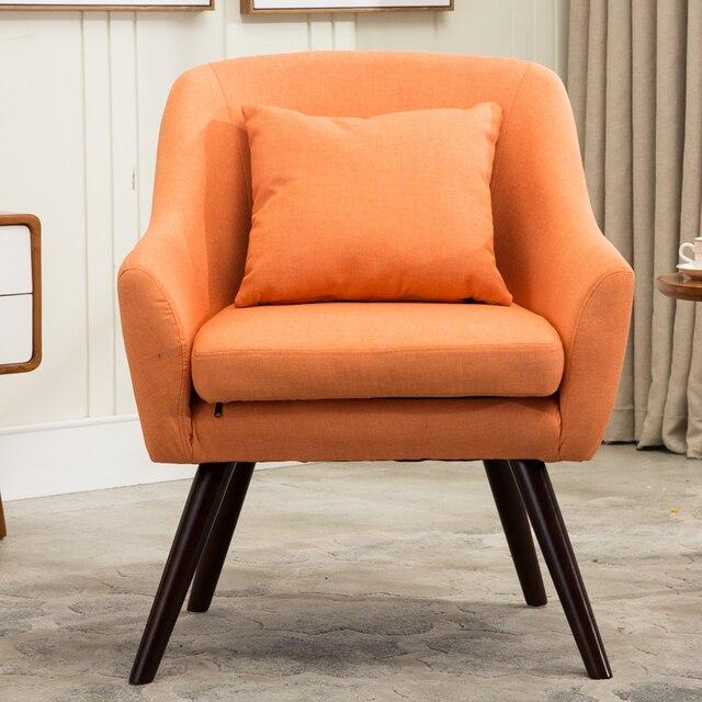 Mid Century Modern Style Armchair Sofa Chair Living Room Furniture ...