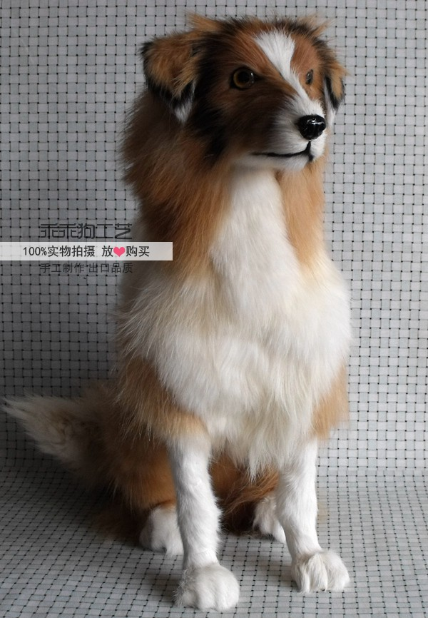 simulation cute squatting shepherd 40x16x46cm model polyethylene&furs dog model home decoration props ,model gift d868 simulation animal large 28x26cm brown fox model lifelike squatting fox decoration gift t479