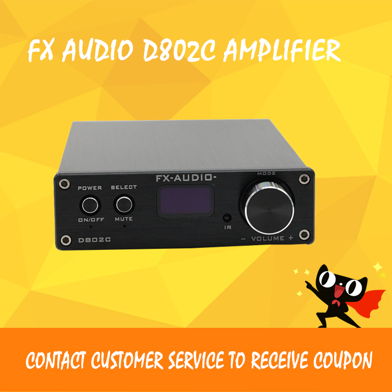FX-Audio D802C audio amplificateur hifi mini amplificateur numérique amplificateur audio
