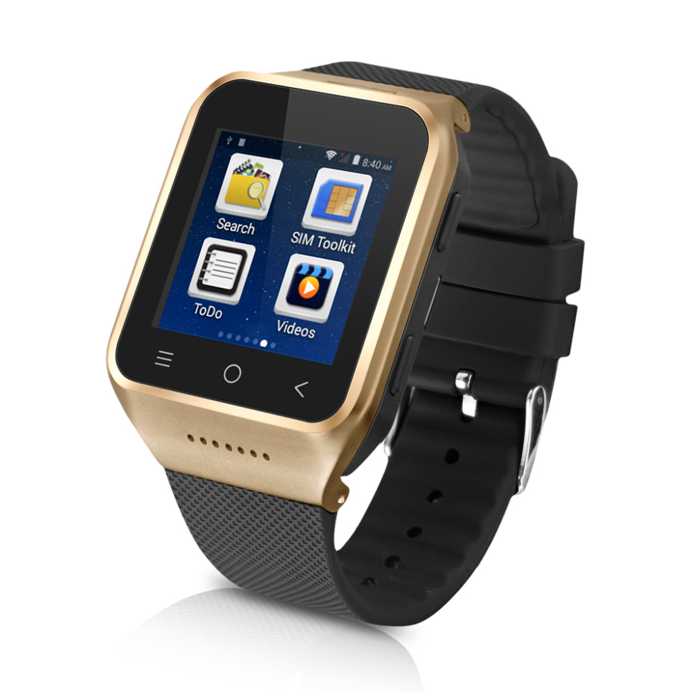 Excelvan S8 3G font b Smartwatch b font 1 54 MTK6572 Android 4 4 Phone Watch