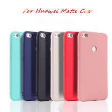 New Matte Candy Silicone Case For Huawei Honor 8 lite 5c 6A 7X View 10 7C Soft TPU Cover P20 Nove 3e soft silicone case
