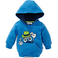 2016 winter fall baby boy hoodies Beard printing blue children clothing brand coat Long Sleeve kid clothes roupa infanti menina