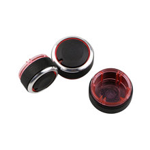 Color My Life Car Interior Air Conditioning AC Knob Heat Control Switch Knobs for Volkswagen VW Polo 2014 2015 2016 Accessories