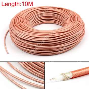Areyourshop Sale 1000cm RG142 RF Coaxial Cable Connector 50ohm M17/60 RG-142 Coax Pigtail 32ft  Plug - DISCOUNT ITEM  0% OFF All Category