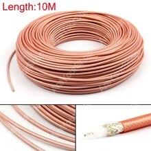 Areyourshop venda 1000cm rg142 rf cabo coaxial conector 50ohm m17/60 RG 142 coaxial trança 32ft plug