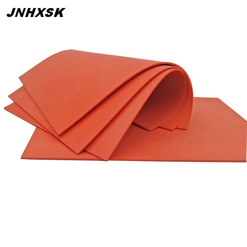 JNHXSK High Quality Natural Rubber Red Rubber Sheet A4 Size 297*210*2.3mm 1pcs For Laser Engraving Machine Free Shipping
