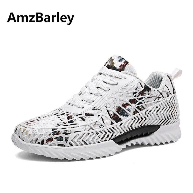 AmzBarley Men Casual Shoes Flats Footwear Mesh Camouflage Man's Hiking Walking Breathable Outdoor Zapatillas Hombre Fashion 2018 2017 men casual shoes fashion walking male footwear comfortable mesh breathable men shoes smycfj e0042