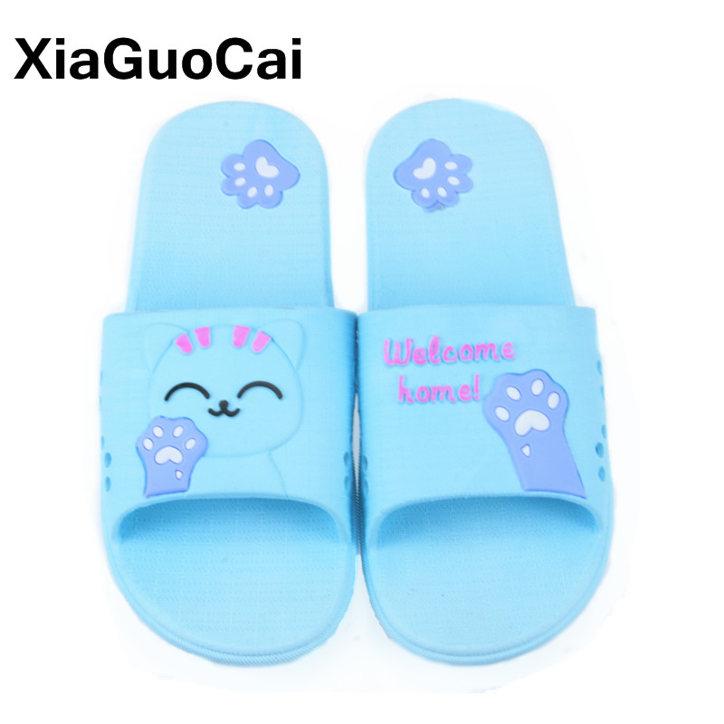 Big Size Summer Women Home Slippers Indoor Soft Breathable Cute Female Beach Shoes Women's Flip Flops Mules Dropshipping Sandals halluci breathable sweet cotton candy color home slippers women shoes princess pink slides flip flops mules bedroom slippers
