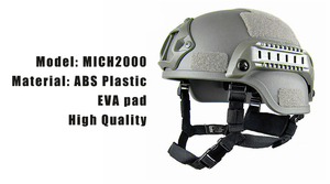 Image 3 - Quality Lightweight FAST Helmet MICH2000 Airsoft MH Tactical Helmet Outdoor Tactical Painball CS SWAT Riding Protect Equipment