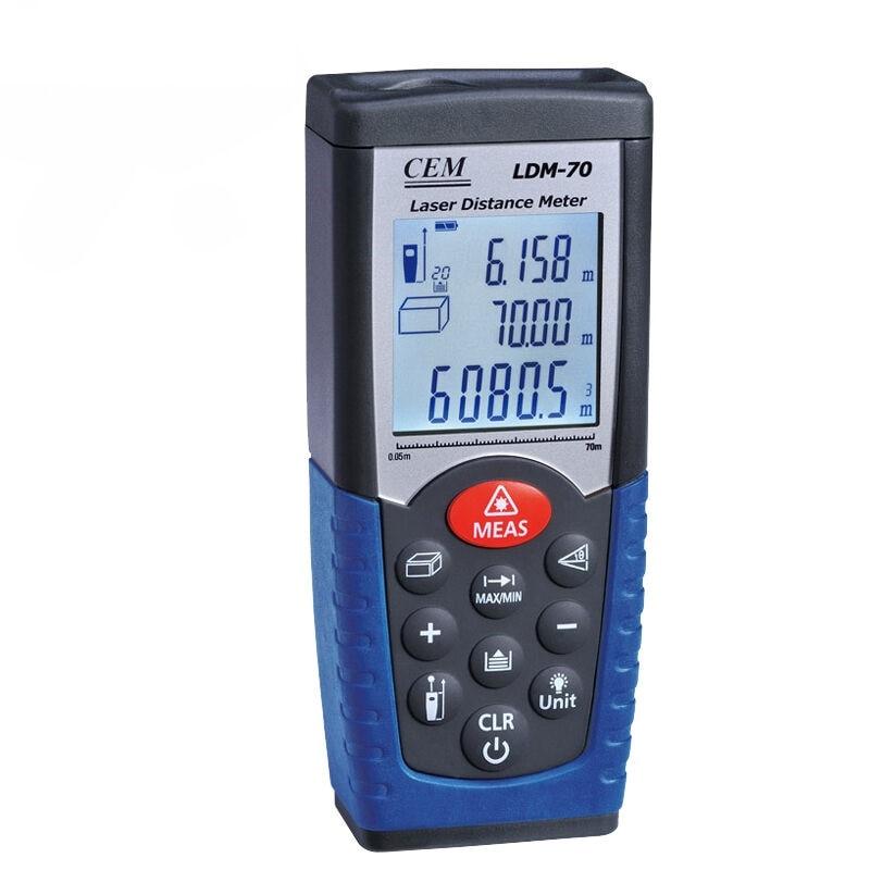 купить Laser Distance Meter LDM-70 70M Laser  Rangefinder MeasuringTape Range Finder Diastimeter Measure Roulette Tool недорого