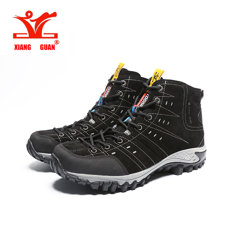 Brand Man Boots Breathable Outdoor Damping Black Grey Purple Shoes high quality Combat boots Women Protect Ankle sneakers 39-45