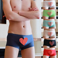 Men's Underwear Boxers Nylon Silk Thin Ice Men's Boxer 10 Colors Perspective Breathable Comfortable Boxers Sleepwear