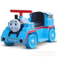 Children Electric Car Mini Train Baby Ride on Car Toddler Toys Kids Car with Music Early Education Function Car Baby Walker