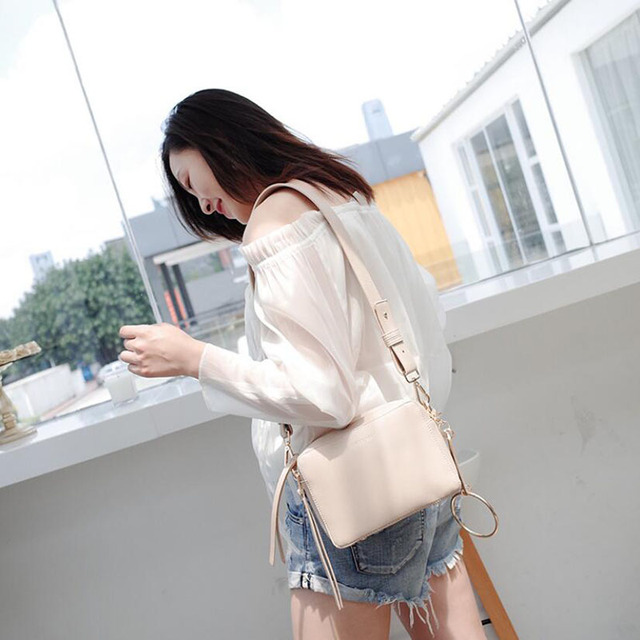 Qiaoduo Handbag Fashion Women Handbags Simple Crossbody Bags Zipper Women Bag Pu Leather Messenger Bags Shoulder Bag A8088