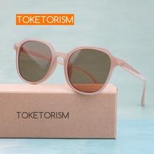 Toketorism trending summer 2019 fashion sunglasses for women  uv400 quality glasses 4133