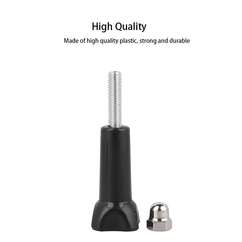 3 piezas/pac Go Pro accesorios adaptador de montaje de trípode tuerca de perno tornillo de pulgar largo para Go pro 7 6 5 4 3 3 + Yi 4 K Sj7 Sj8 pro de DJI