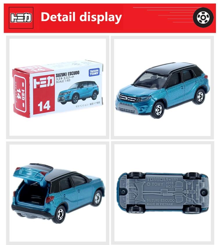 Tomy Diecast metal modelo de carro de Brinquedo