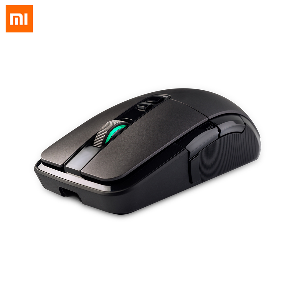 Original Xiaomi Gaming Mouse Wireless Mouse Gamer 2.4G Game Mouse USB Dual Mode RGB <font><b>7200DPI</b></font> Mice for PC Laptop Notebook image