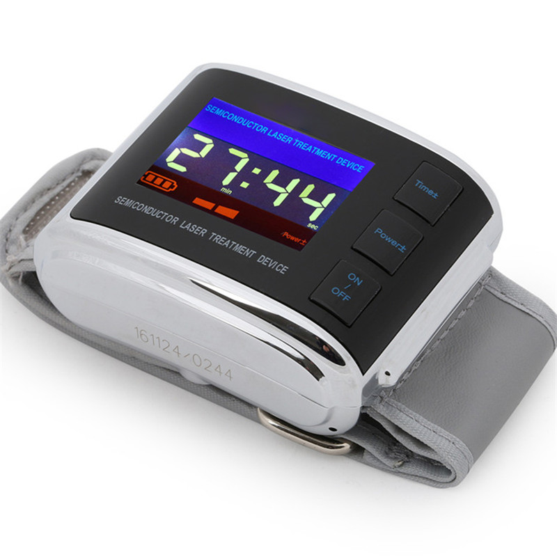 Cold LLLT Laser Equipment Hypertention Diabetes Therapy Watch Improved Blood Flow Cardiovascular and Cerebrovascular