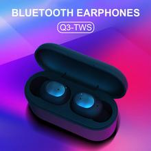 Q3 TWS Wireless Binaural Stereo Bluetooth Earphone IPX5 Mini Sports HIFI Sound Quality Waterproof Automatic Pairing Earbuds