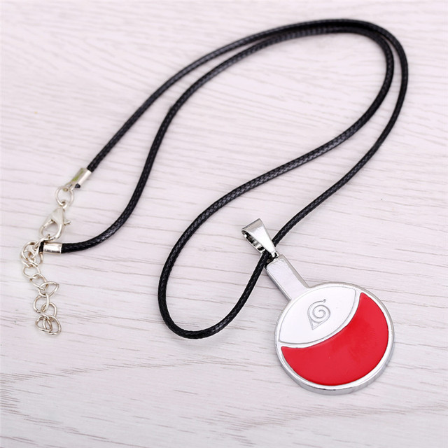 Uchihi Clan Logo Pendant Necklace