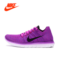 NIKE Free Flyknit Barefoot Women S Light Comfortable Running Shoes Sneakers