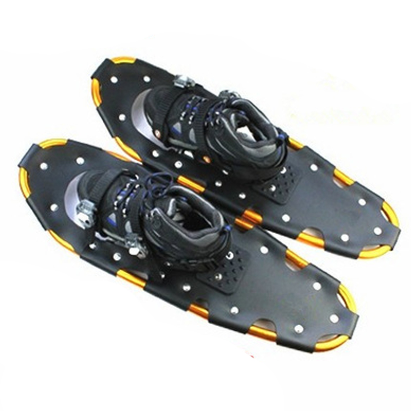 28 Inch Aluminum Frame Tightly Fixed Anti-Cold Adults Freeride Snowboard Board Safe Walking Or Running Snowshoes Sled