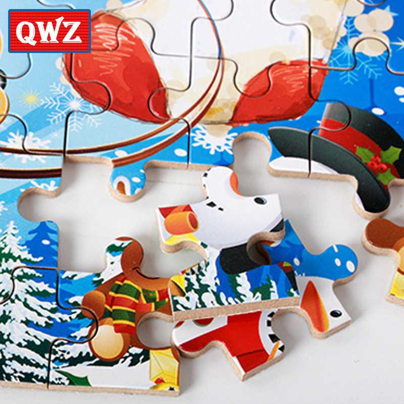 60 шт./компл. деревянная мозаика, анимированная игрушка 3D деревянная головоломка железная коробка пакет головоломка для детей раннего образования Монтессори игрушки