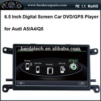 Car DVD GPS Player For Audi A5 A4 Q5 With Built In GPS Support Digital TV