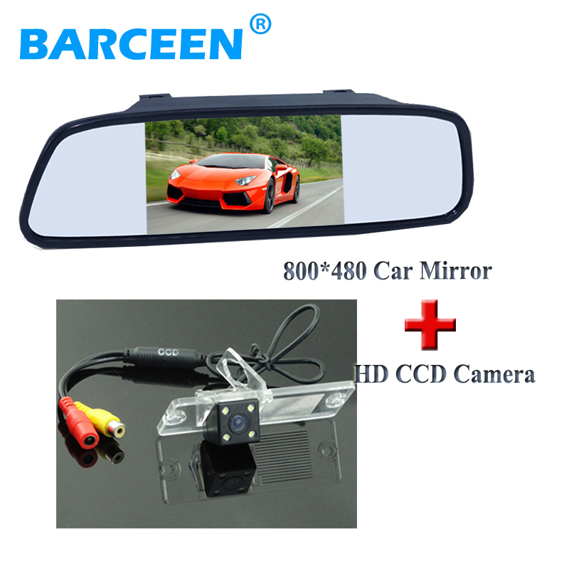 5 car parking monitor wire with plastic shell car rear reserve camera for Mitsubishi Pajero Zinger