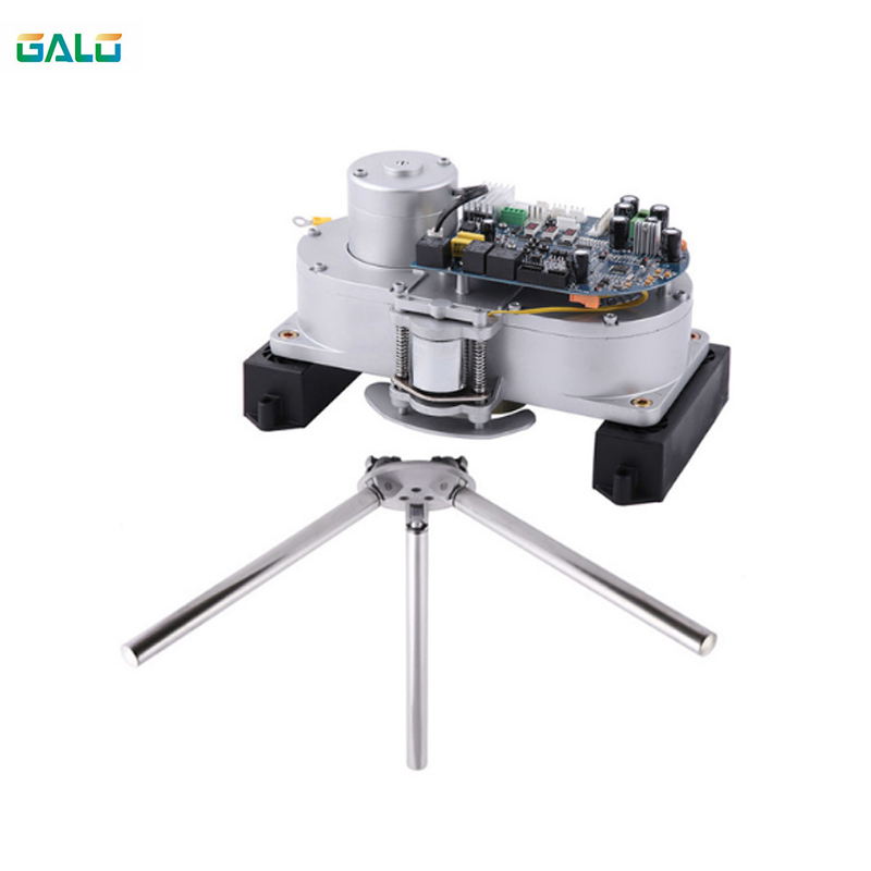 Semi-Automatic Tripod Turnstile Mechanism With High Quality Tripod Arms&control Board