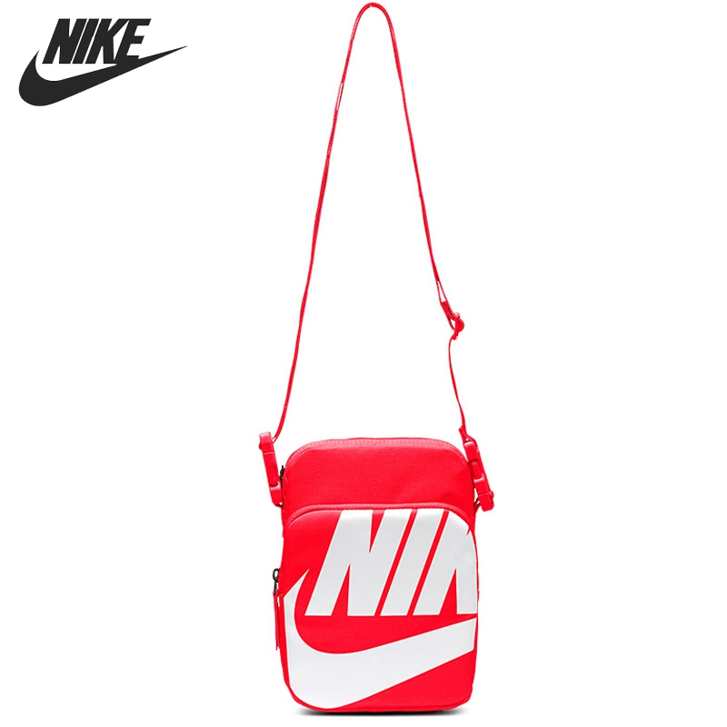Original New Arrival  NIKE  NK HERITAGE SMIT - 2.0 GFX Unisex  Handbags Sports Bags