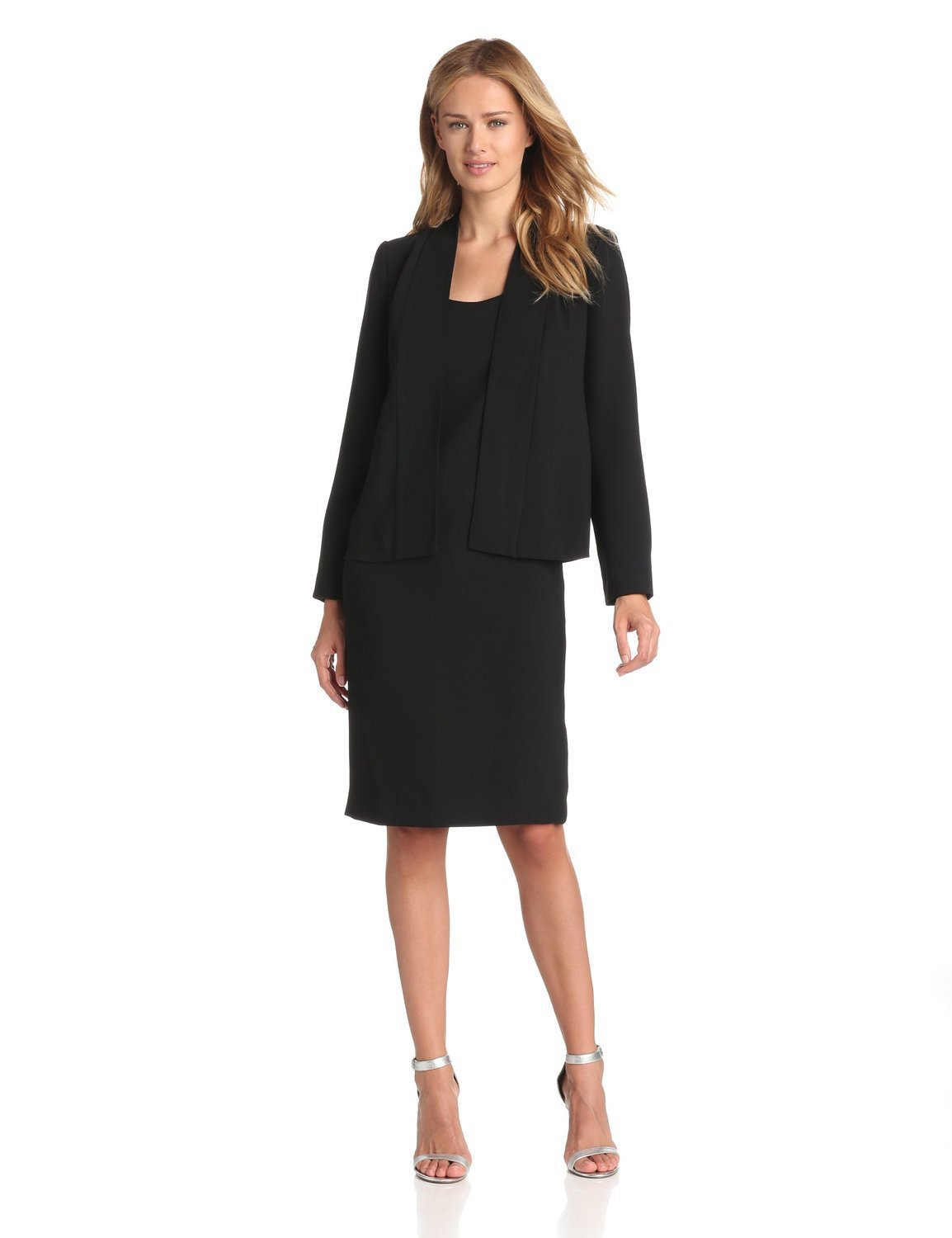 Online Get Cheap Women Work Suits Blazer with Slim Dress ...