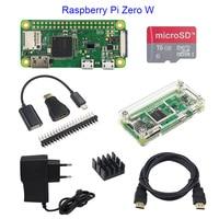 Raspberry Pi Zero Basic Starter Kit Raspberry Pi Zero Board 16G SD Card Power Adapter Acrylic