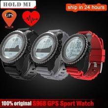Хорошее Удерживайте Ми S968 gps Спорт Смарт часы Водонепроницаемый сна монитор сердечного ритма термометр альтиметр шагомер gps Smartwatch Для мужчин