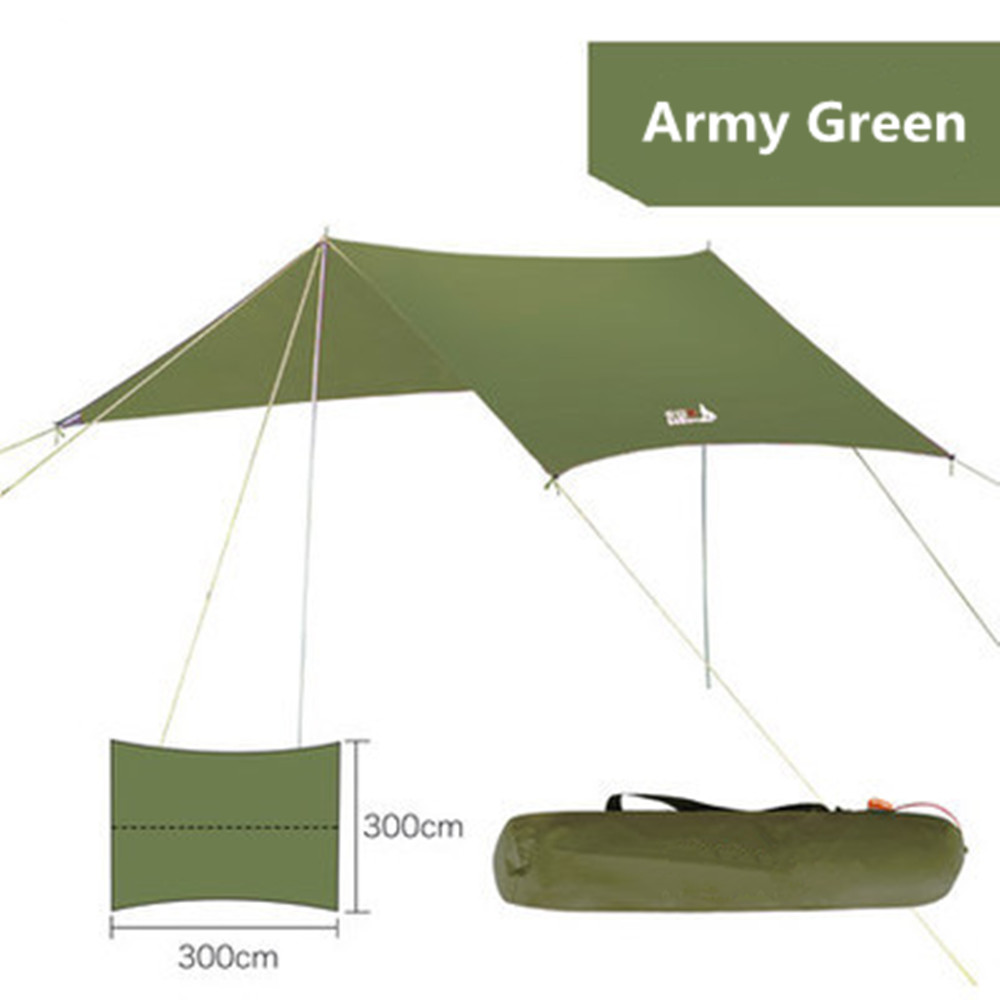 Ultralight Tent Multi user Sun Shelter Awning Tent Outdoor Beach Camping Picnic Ultralight Sun Protection Canopy