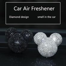 รถน้ำหอมเพชร Air conditioner Outlet คลิปตกแต่งภายในรถ Air Freshener รถจัดแต่งทรงผมน้ำหอม 100 Original