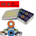 Original T&B GT-9 608 608z Bearing for Inline Skates Roller Skating Skate board Skateboard Scooter, Smoothy Anti-rust Low Noise