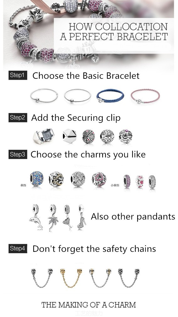 How to decorate your pandora bracelet