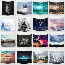 Hot sale fashion adventure theme wall hanging tapestry home decoration large tapestries  1750mm*1750mm