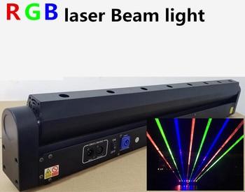 8 Ogen laser lichten R, G, RGB beam dmx moving head laserlicht professioneel podium apparatuur DJ lichten balken Laser Bar Licht